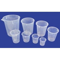 Beaker nesting PP 30-1000ml set