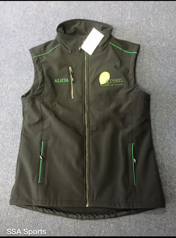 Customised Soft Shell Vest Mens