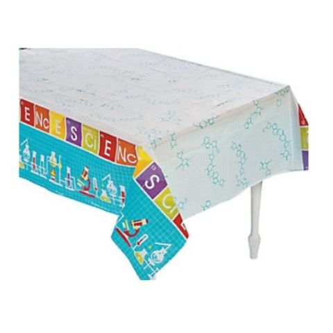 Science Party table cloth