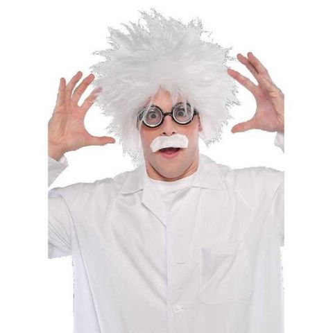 Science Party mad scientist wig