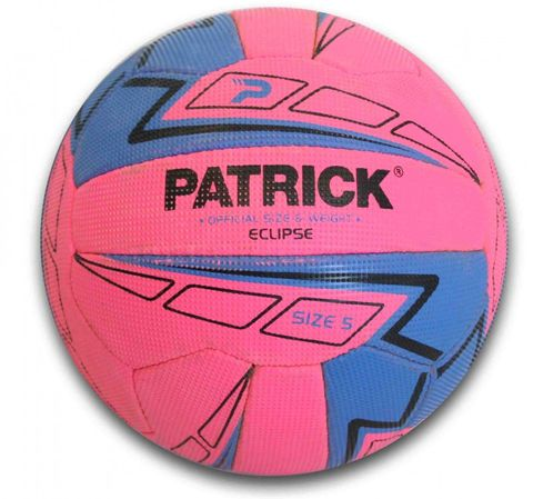 Eclipse Fluro Pink Netball- Size 4