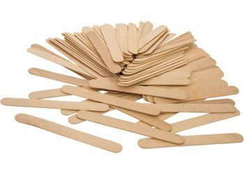 Jumbo paddle pop sticks