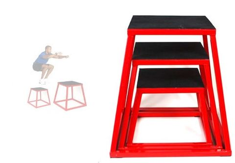 Plyometric Box (Set Of 3)