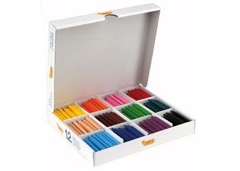 Jovicolor Triwax school crayons