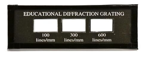 Diffraction grating 3-in-1 (100/300/600)