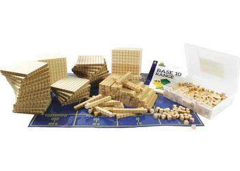 MAB Base 10 plain wood Set 2