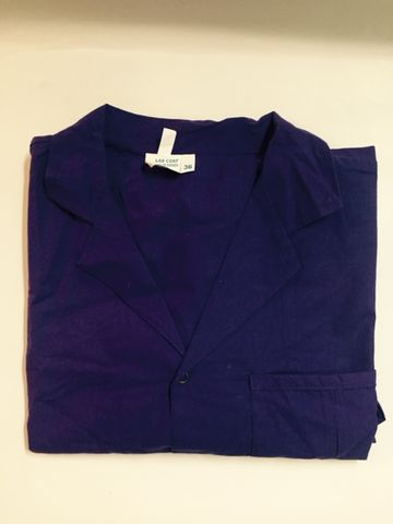 Lab Coat Large Royal Blue