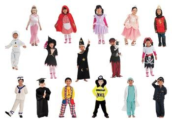 Dress Up Set - 16 costumes