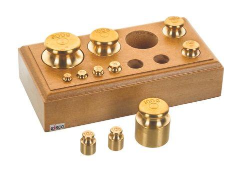 Mass set Brass capacity 500g