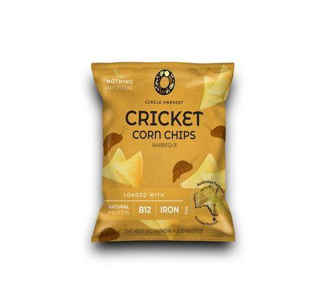Cricket Corn Chips 50g - BBQ
