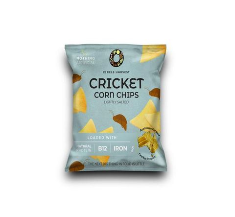 Cricket Corn Chips 50g - Lightly Salted