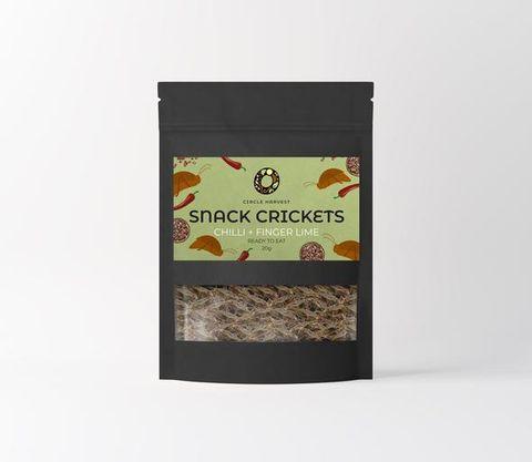 Chilli & Fingerlime Snack Crickets