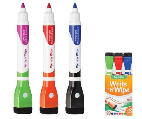Write n Wipe Whiteboard Markers 3s