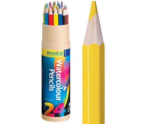 Basics Watercolour Pencils 24s