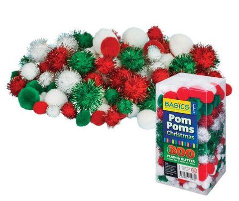 Pom Poms Christmas 300's