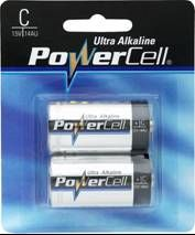 Batteries - Powercell Alkaline C