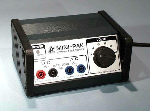 Power supply 'Mini-Pak' 2-12V AC/DC 5A