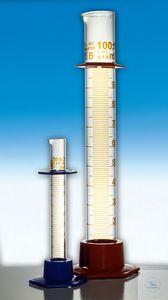 Cylinder measuring glass PE base 100ml