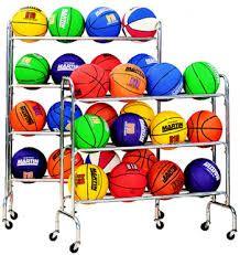 Portable Ball Rack- Holds 20 Balls