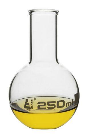 Flask flat bottom narrow neck 250ml