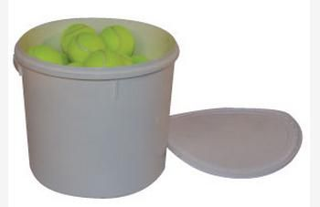 Tennis Balls 3 Dozen in Bucket with Lid