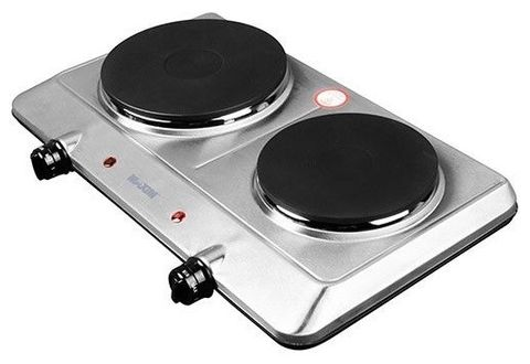 Hotplate double place 15/18.5cm 1500W