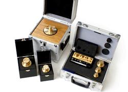 Calibration brass set 100/200/500g/1kg