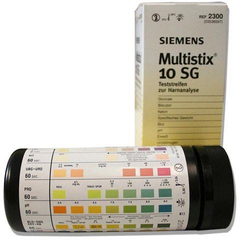 Multistix 10SG Reagent strips