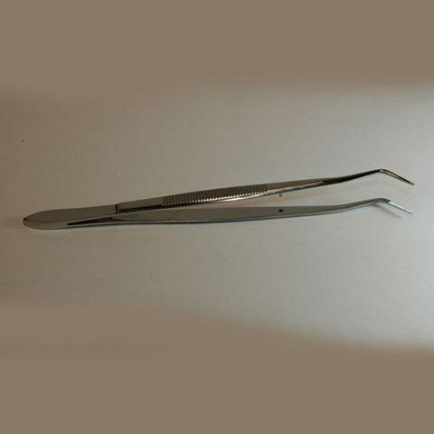 Forceps goose neck 160mm