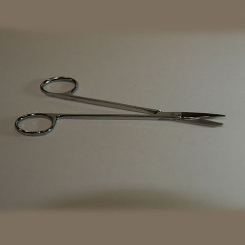 Scissors dissecting curved sharp 90mm