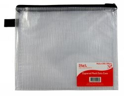 Case PVC zip mesh 260x200mm medium