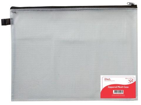 Case PVC zip mesh 360x270mm large