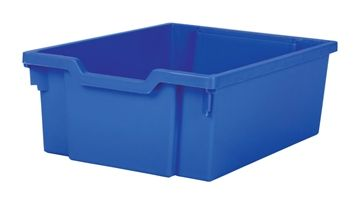 Tray storage deep Blue 150mm