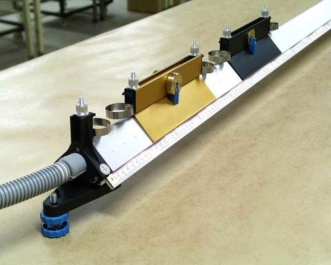 Air Track 2.5m with assembly & oper. kit
