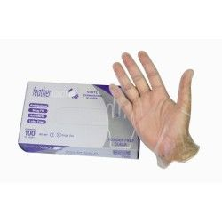 Gloves PVC Large powder free