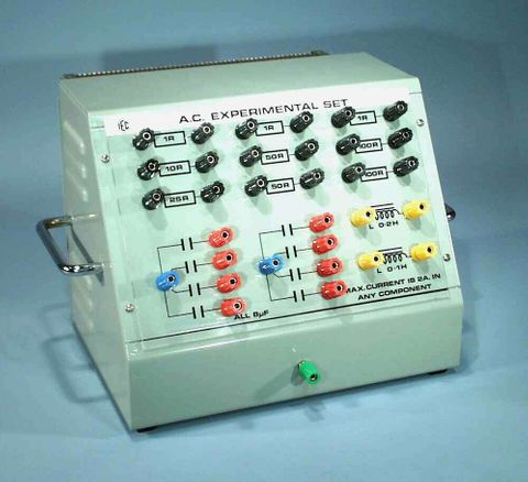 AC Circuits experiment kit - complete