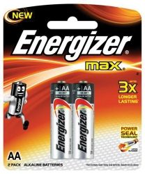 Batteries Energizer Max E91 AA