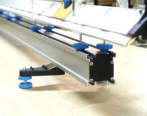 Air Track sub-base & stud kit 2.5m