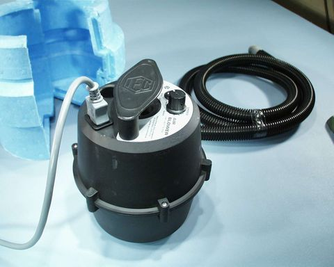 Air source variable speed for IEC