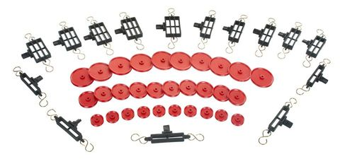 Pulley assembly set of 15