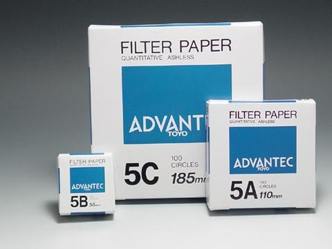 MFS filter paper No.5B ashless 90mm