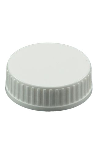 Cap white 33mm wadded 33-400 finish