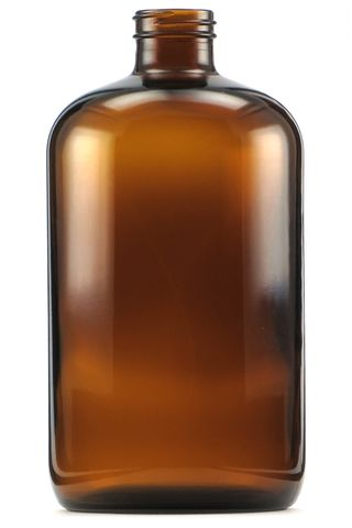 Bottle amber glass 1000ml 33-400 neck