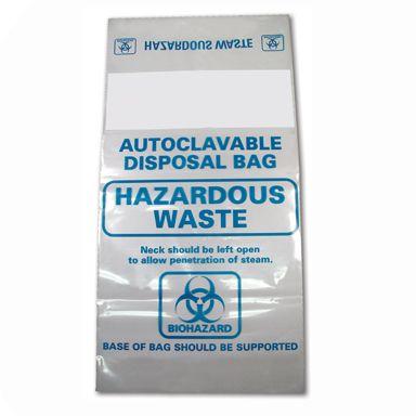 Autoclave bags 41.5x60cm 136C medium PP