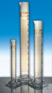 Cylinder measuring glass 25ml Cl.B [WSL]