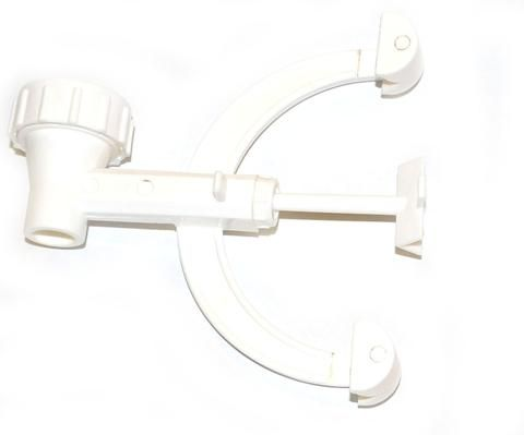 Clamp burette single  polypropylene