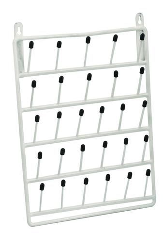Rack draining wall mounting 28 pegs