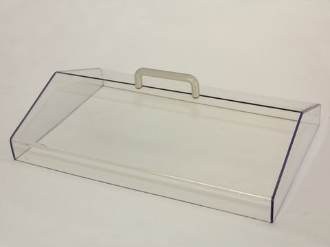 Lid gabled polycarbonate for WB14 bath