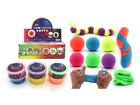 Super bouncing putty