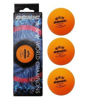 Donic Avantgarde 40mm 3 Star Comp Ball